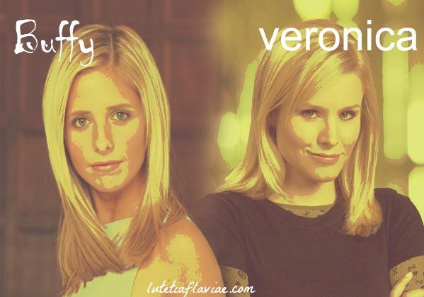 Parallèle et comparaison entre Buffy Summers de Buffy contre les vampires et Veronica Mars sur lutetiaflaviae.com