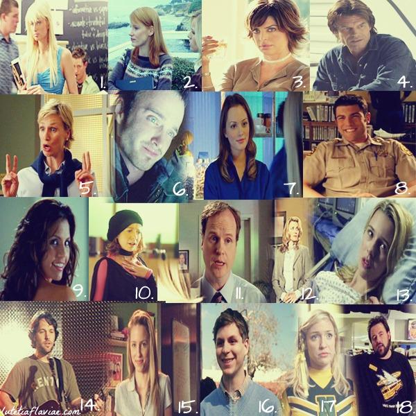 Les très nombreuses guest-stars dans Veronica Mars parmi lesquelles Leighton Meester, Jessica Chastain, Paris Hilton, Lucy Lawless ou Paul Rudd sur lutetiaflaviae.com
