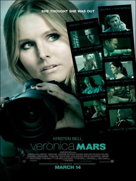 L'affiche du film Veronica Mars à découvrir sur lutetiaflaviae.com