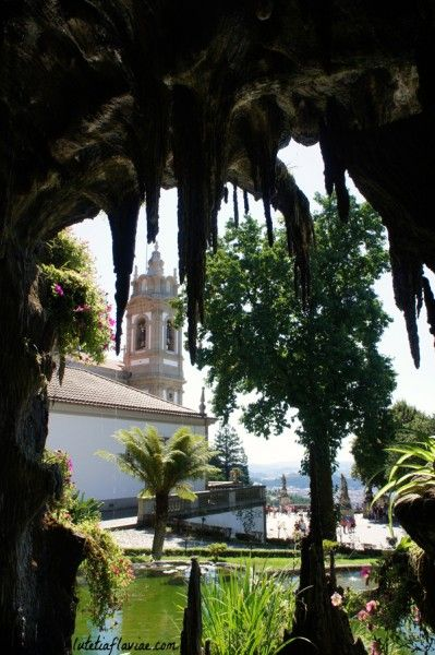 Le Sanctuaire du Bom Jesus à Braga au Portugal sur lutetiaflaviae.com