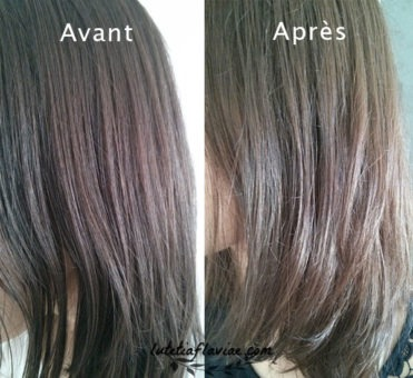 balayage blond sur cheveux noir avant apr s. Black Bedroom Furniture Sets. Home Design Ideas