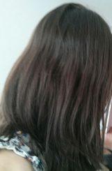 DIY : résultat après une recette naturelle pour éclaircir les cheveux avec un masque au miel