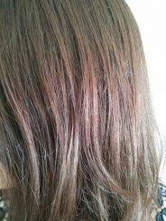 résultat des cheveux après une recette pour les éclaircir naturellement