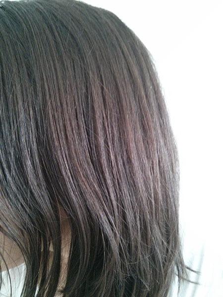 Couleur de cheveux naturelle avant éclaircissement