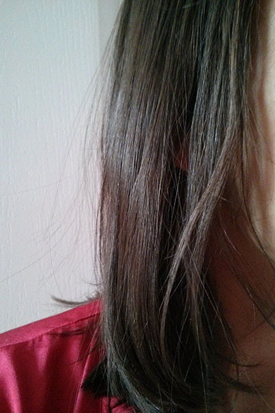 Ma couleur de cheveux avant l'éclaircissement naturel