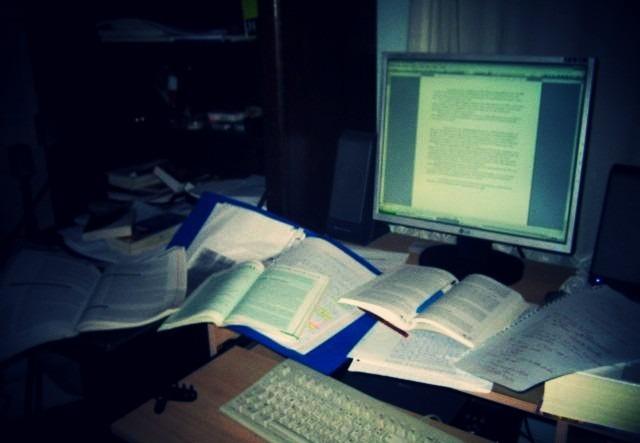 Mon bureau avant les conseils de la méthode GTD