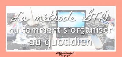Livre : S'organiser pour réussir avec la méthode GTD (fiche + vidéo)