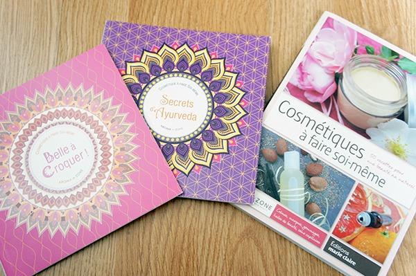 Mes livres de beauté naturelle et de cosmétiques à faire soi-même. A découvrir sur lutetiaflaviae.com