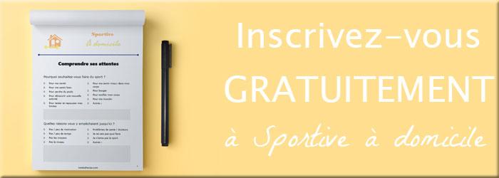 Cliquez pour vous inscrire à Sportive à domicile, le guide pour se lancer dans le sport maison sur lutetiaflaviae.com