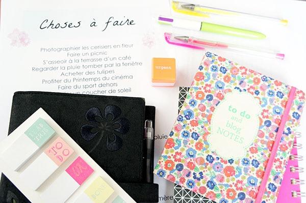 Etre organisé et tenir de listes de choses à faire met-il trop de pression ou est-ce source de bien-être ? Mon avis sur lutetiaflaviae.com