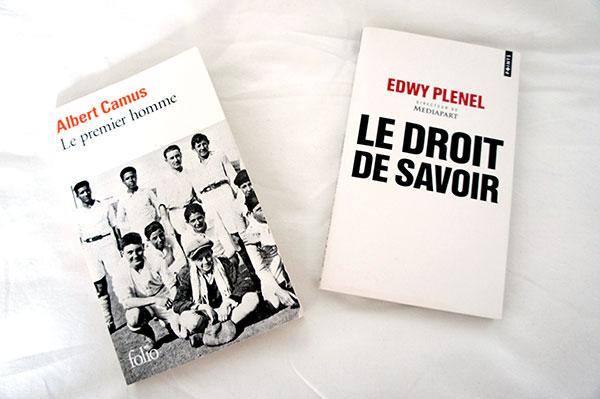 Mes lectures du mois de janvier 2016 : Le Premier homme de Camus et Le Droit de savoir d'Edwy Plenel sur lutetiaflaviae.com