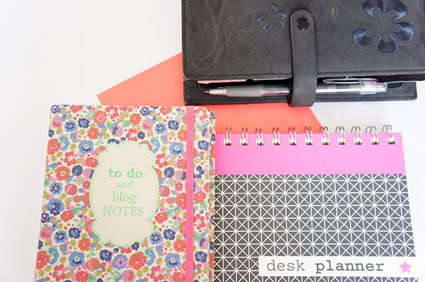 Mon organiseur et agenda, mon bloc de listes et to-do lists et mon planner hebdomadaire sur lutetiaflaviae.com