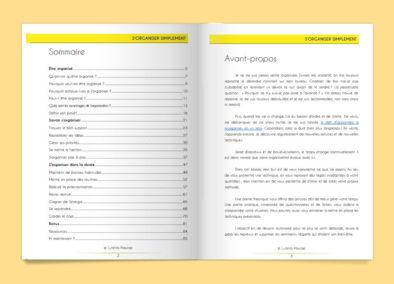 Découvrez le sommaire et un extrait de l'ebook S'organiser simplement sur lutetiaflaviae.com