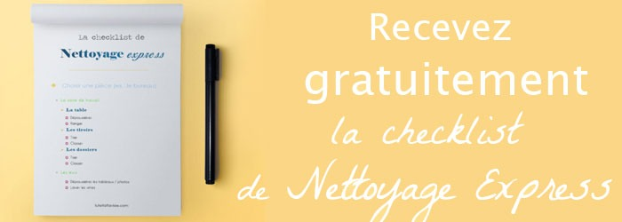 Top 5 raisons de faire un nettoyage de printemps (+ checklist !) LO96