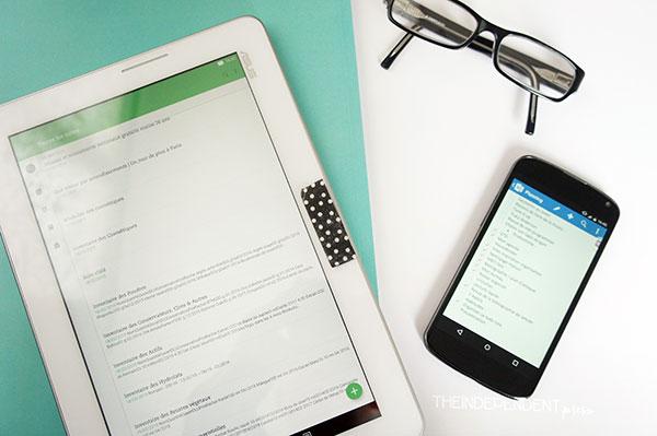 Les applications pour s'organiser et gérer ses projets : Evernote et OneNote. Découvez comment je m'en sers au quotidien sur lutetiaflaviae.com !