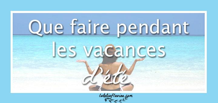 Si vous vous demandez que faire pendant les vacances d'été, je vous ai préparé un challenge créatif ! Téléchargez ma liste gratuite sur lutetiaflaviae.com !