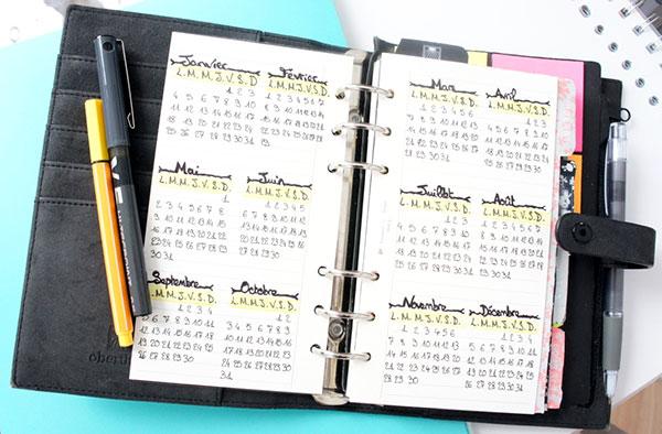 Comment j'utilise le système du bullet journal pour m'organiser avec mon planner à découvrir, en plus d'une présentation complète sur lutetiaflaviae.com !