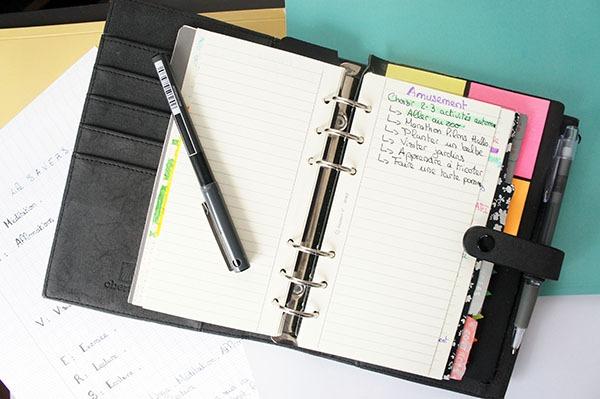 Mon agenda organisé selon le Level 10 life du Miracle Morning me permet d'être plus productive tout en gardant mes objectifs à l'esprit ! Mon avis sur le livre à lire sur lutetiaflaviae.com