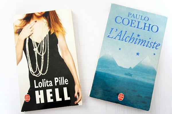 Hell de Lolita Pille et L'Alchimiste de Paulo Coelho sont deux romans qui m'ont le plus marquée durant mon adolescence. Découvrez comment ils m'ont influencée sur lutetiaflaviae.com