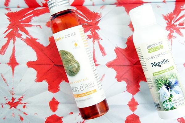 L'huile de nigelle et l'huile de melon d'eau m'ont permis de soigner une rosacée naturellement. Je m'en sers aussi pour faire des bains d'huile afin d'apporter de la brillance à mes cheveux. Cliquez sur lutetiaflaviae.com pour en savoir plus !