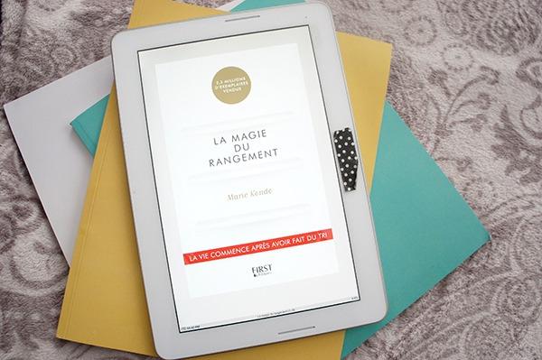 Mon avis sur La Magie du rangement, aussi appelée la méthode Konmari de Marie Kondo pour trier et ranger sa maison à lire sur lutetiaflaviae.com