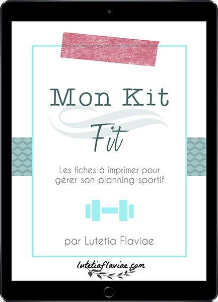 Mon Kit Fit : Imprimables pour se motiver à faire du sport et être en forme 6