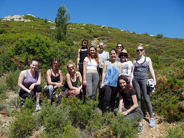 L'association 109 World France lors de la retraite yoga organisée en mai 2017. A travers le yoga et la méditation, leur but est de faire prendre conscience que chaque individu peut changer le monde. Découvrez leurs projets sur lutetiaflaviae.com !