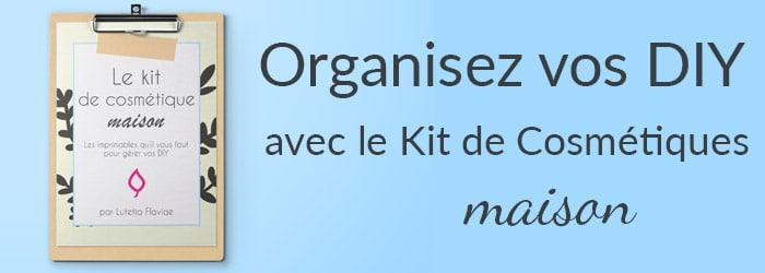 Organisez vos DIY, gérez vos recettes maison et amusez-vous à fabriquer vos cosmétiques avec ce kit d'imprimables. Découvrez-le sur lutetiaflaviae.com !