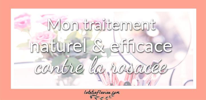 Astuce : Mon traitement naturel et efficace pour soigner une rosacée