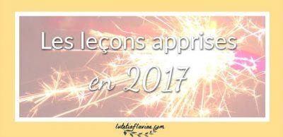 2017 : Le compte-rendu bien-être, lifestyle, culture (leçons + découvertes)