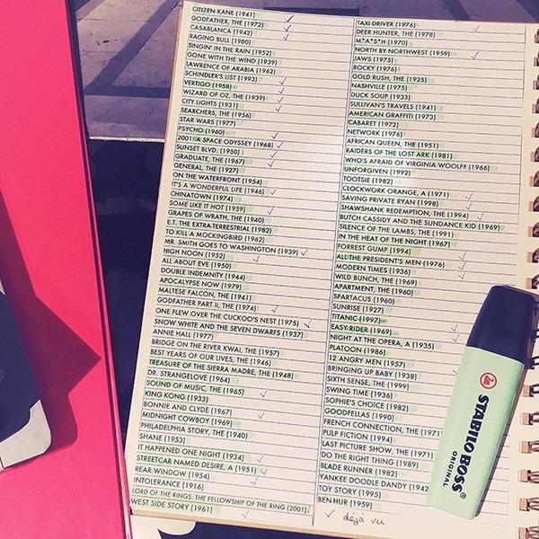 Ma liste du top 100 des meilleurs films de tous les temps d'après the American Film Institute (l'AFI). Découvrez mon avis après avoir regardé la liste complète sur lutetiaflaviae.com