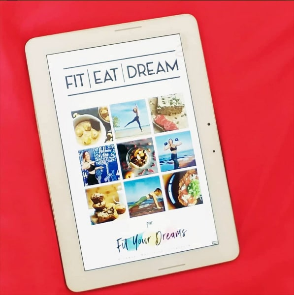 L'ebook de Leona Reading est disponible gratuitement afin d'apprendre les bases du sport, de l'alimentation et du bien-être. A recevoir gratuitement sur fityourdreams.com !