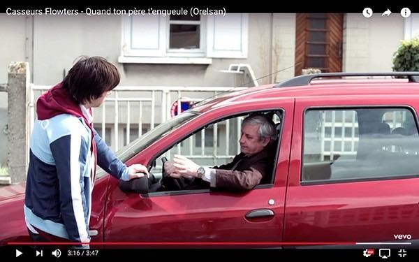 Capture du film Comment c'est loin (2015) et du clip Quand ton père t'engueule d'Orelsan pour illustrer la procrastination du personnage. En savoir plus sur lutetiaflaviae.com