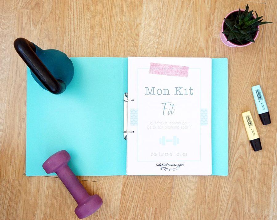 Mon Kit Fit est un ensemble d'imprimables pour gérer sa routine sportive. Mettez-vous au sport ou remettez-vous en forme facilement grâce à ces fiches qui vous accompagneront pas à pas. A découvrir sur lutetiaflaviae.com !