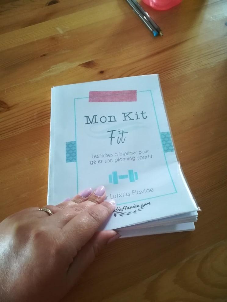Mon Kit Fit : Imprimables pour se motiver à faire du sport et être en forme 9