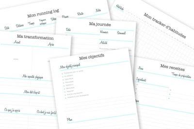 Mon Kit Fit est un ensemble d'imprimables pour gérer sa vie sportive : créez les routines qui vous conviennent et atteignez vos objectifs sans redouter le manque de motivation ! Ce produit comprend tout ce qu'il faut pour suivre vos routines sportives, retenir vos séances, évaluer vos progrès et votre alimentation. Découvrez-le sur lutetiaflaviae.com !