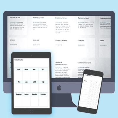 Le kit d'organisation maison digital est un ensemble de notes pour gérer sa maison facilement sur Evernote. Utilisez cette application pour accéder à vos informations sur votre téléphone, votre ordinateur et votre tablette, synchronisez toutes vos données avec vos proches et vous pourrez ainsi gagner du temps et en harmonie au quotidien. Découvrez-le sur lutetiaflaviae.com !