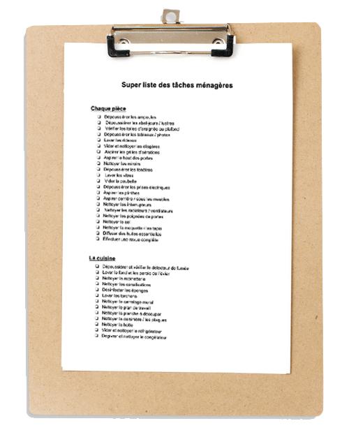 Le Kit d'Organisation Maison : Organiseur familial (non daté) 8