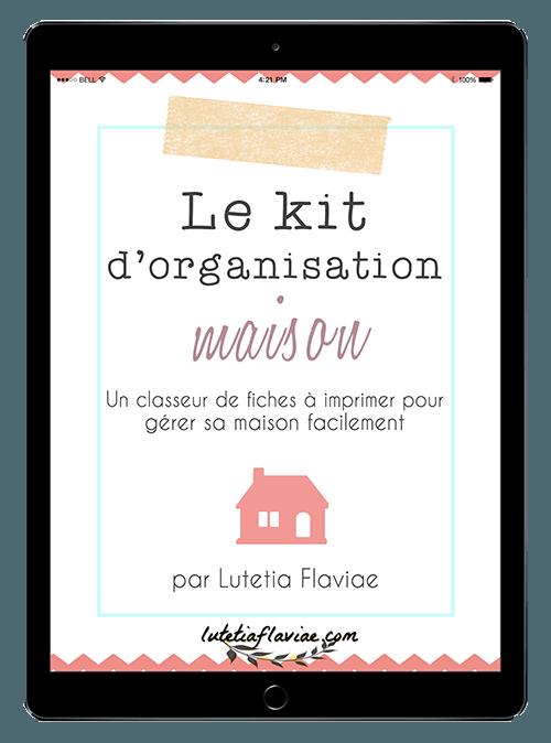 Le Kit d'Organisation Maison : Organiseur familial à imprimer (sans date) 3