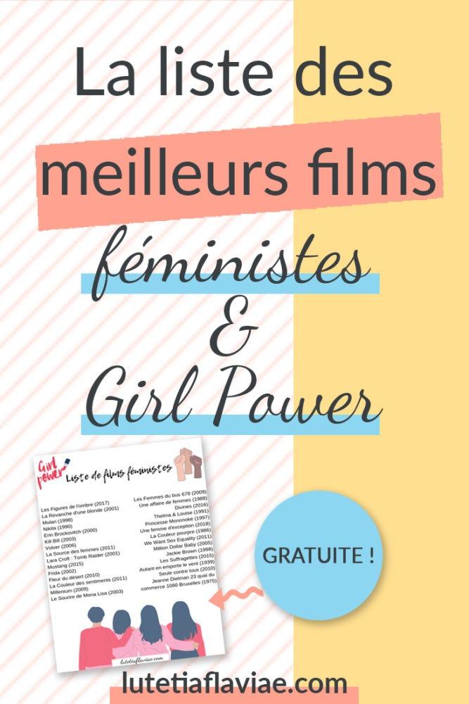Les meilleurs films féministes et girl power pour s'inspirer de femmes de caractère. Ces héroïnes incarnées au cinéma trouvent la force et le courage de mener des combat pour leurs droits, leur liberté voire pour survivre. Obtenez-la gratuitement sur lutetiaflaviae.com