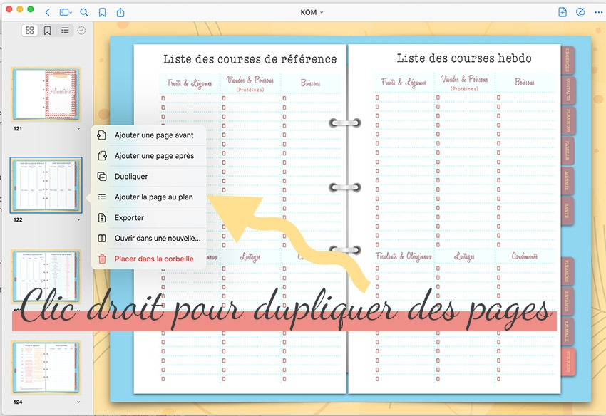 Comment utiliser un planner digital pour s'organiser sur sa tablette de manière interactive en gardant le plaisir d'écrire sur slowcreativite.com