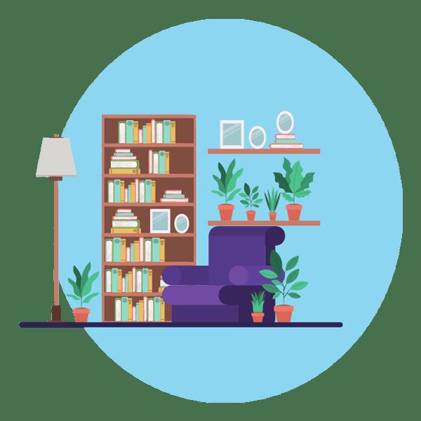 Inscrivez-vous à la bibliothèque privée pour accéder à près de 40 ressources gratuites : des fiches et des check-lists ansi que des ateliers pour s'organiser et harmoniser son quotidien sur slowcreativite.com